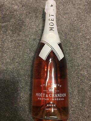 Moet Chandon Rose Limited Edition Virgil Abloh RARE SOLD OUT NEW 2018 OFF WHITE
