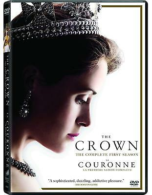 Brand New! The Crown: Seasons 1 & 2, 1 2. 8 Disc Bundled Dvd Set.