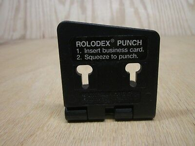 Merrick Rolodex Business Card Punch Personal Hole Punch For