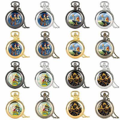 Collection Toy Story/The Lion King/One Piece/Transformers Quartz Pocket Watch