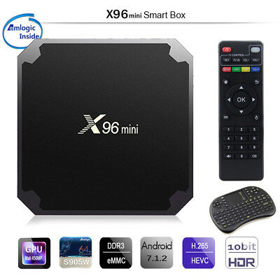 X96 mini X96-W S905W mini TV BOX Android 7.1 4K 2GB 16GB Quad Core WiFi IPTV Set