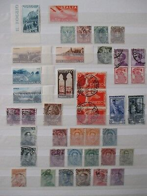 Italy Stamps -  Small Collection - E6