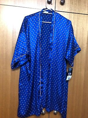 Eleanor Lucas Designer Gown Blue And Gold Size 16