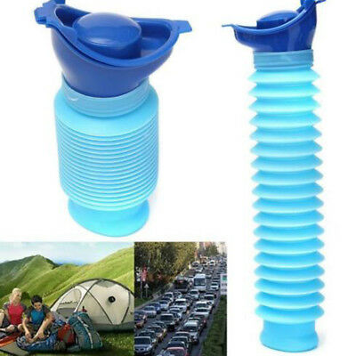 750ml Portable Urinal Travel Male Female Reusable Camping Car Pee Urine Toilet
