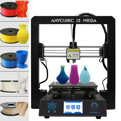 ANYCUBIC I3 Mega 3D Printer All-Metal Frame TFT Touchscreen Upgrade PLA AU Post