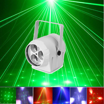 RGBW LED Projector Effect Stage Lights DMX 512 Laser Beam Party DJ Club Lighting
