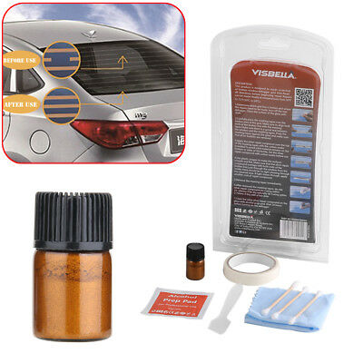 Rear Window Defogger Repair Kit Fix Broken Defogger Grid Lines & Tabs Vehicle