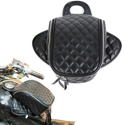 PU Leather Magnetic Oil Fuel Gas Tank Bag Luggage Bag Phone Storage Motorcycle