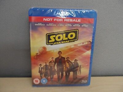 Solo A Star Wars Story  Blu-Ray DVD 2 Disc Edition Sealed New    22B