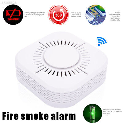 AC42 433MHz Voice Warning Fire Protection Smoke Alarm Detector High Sensitive