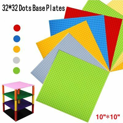 Building Base Plates Board 32x32 Dots DIY Building Blocks Educational Toy YM