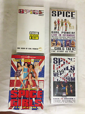 lotto 4 vhs spice girl