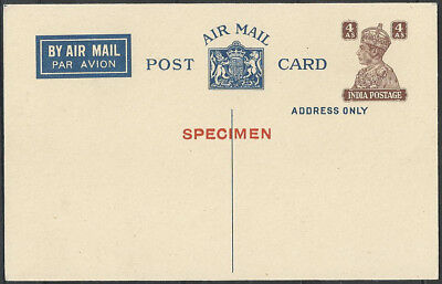Smith Signed Ez 2c1 1935 Sikkim India Rocket Mail Card