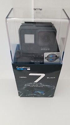 GoPro HERO7 Action Camera - Black - Waterproof - Touch Screen - 4K HD Video 12MP