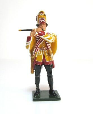 54mm W Britain Redcoats Collectors Gloss Finish Figure British Fifer 1754 - 1763