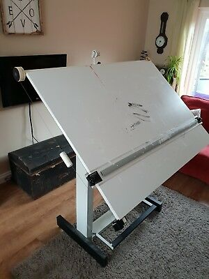 Architects Drawing Board Table Home Hobby Crafting Drafting Draftsman Art Desk