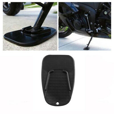 CNC Universal Motorcycle Sidestand Enlarge Foot Plate Kickstand Extension Pad Y