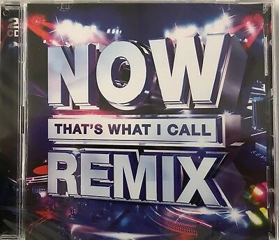 Various Artists - NOW That's What I Call Remix (2xCD) New Sealed Free UKP&P