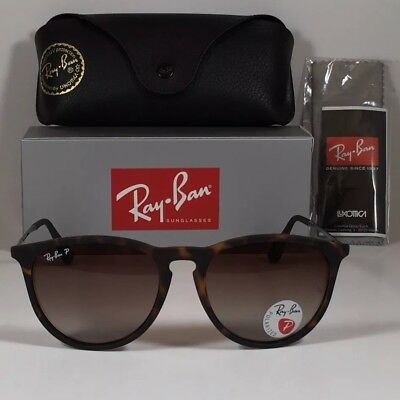 New Ray-Ban Erika Rb4171 865/13 Tortoise Polarized Sunglasses