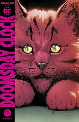 Doomsday Clock #8 Cover A - Dc Comics First Print Brand New