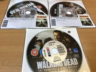 The Walking Dead: The Complete Second Season DVD (2012) Andrew Lincoln DISC ONLY