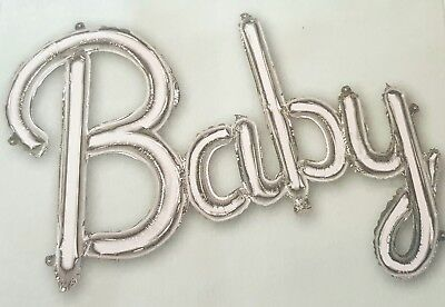 LOVE BALLOON-SELF INFLATING SILVER FOIL//NO HELIUM-ENGAGEMENT//WEDDING PARTY-77CM