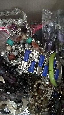 Job lot/ Modern&Vintage Fashion Jewellery /USED/ 1.6 kg