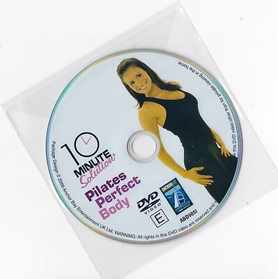10 Minute Solution - Pilates Perfect Body (2008) DISC ONLY DVD Exercise