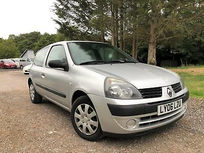 2006 06 Plate Renault Clio 1.2 Petrol Manual Campus,service History,px To Clear