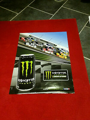 Poster Nascar   Monster Energy Cup
