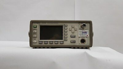 Agilent HP E4416A Single Channel RF Power Meter with calibration ISO17025