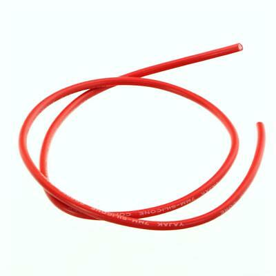 Yajak Ignition Leads Silicone Red Ø 0 9/32in 1m Long Wire