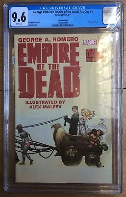 George Romero's Empire of the Dead: Act One #1 Frank Cho Variant CGC 9.6
