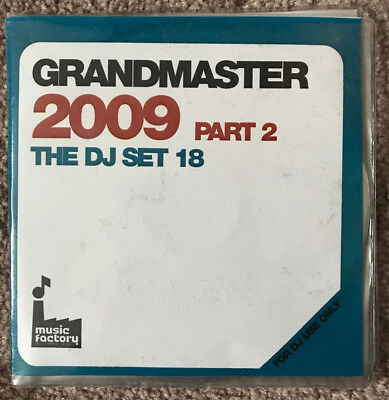 Mastermix GRANDMASTER 2009 Part 2 and DJ SET 18 Double Disc