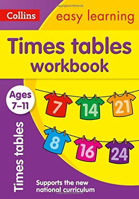 El Times Table Wb 7-11 New (UK IMPORT) BOOK NEW