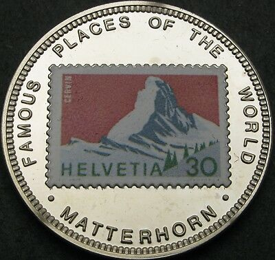 UGANDA 1000 Shillings 1996 Proof - Matterhorn - 2073 ¤