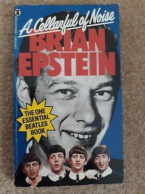 BRIAN EPSTEIN A CELLARFUL OF NOISE Rare Paperback book. 1981 Addition.