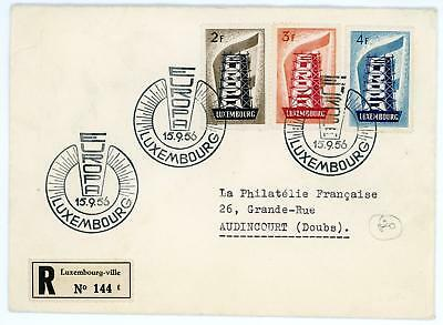 Luxembourg 1956 Europa FDC - Scarce!