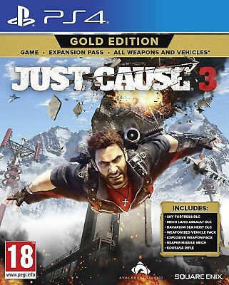 Just Cause 3 - Gold Edition | PlayStation 4 PS4 New (5)