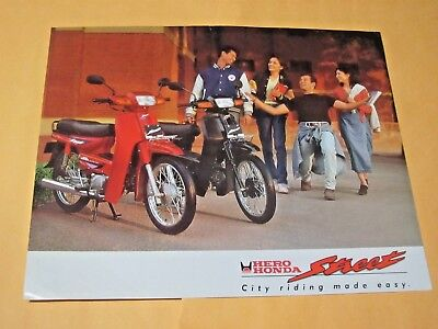 1980's HERO HONDA STREET (INDIA) SALES BROCHURE.....