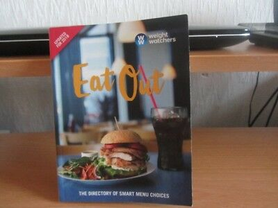 "WeightWatchers ""Eat Out"" book, 2018. Smart points listings."