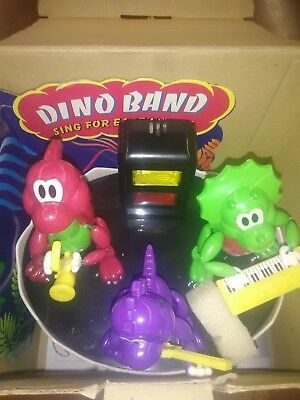 Vintage Toy DINO BAND METRO WORLD