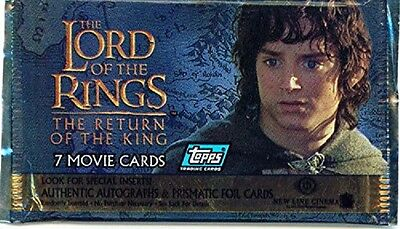 Lord of the Rings: The Return of the King Sealed Trading Card Packs X (12) packs