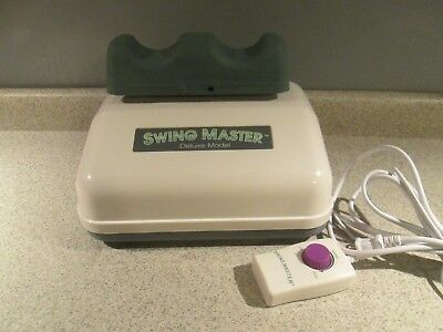 Chi Machine Swing Master Deluxe Model USJ-201 Therapy Massager Adjustable Speed