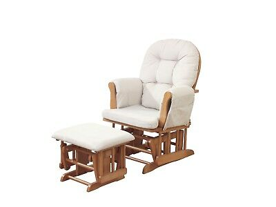 Haywood Glider and Footstool - Natural [Grade B]