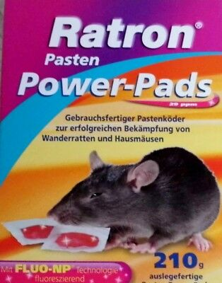 Ratron Power-Pads Inhalt 210g, Mäusegift, Rattengift