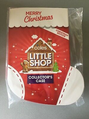 Coles Little Shop Christmas Edition Collectors Case  Brand New  Fully Sealed