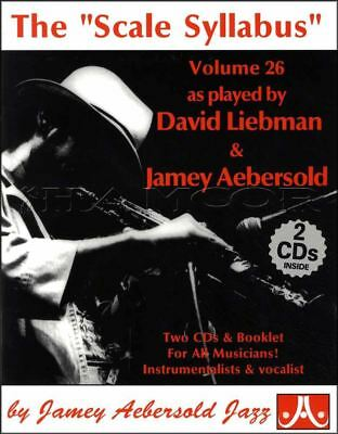 David Liebman Solos from The Scale Syllabus Music Book/CDs SAME DAY DISPATCH