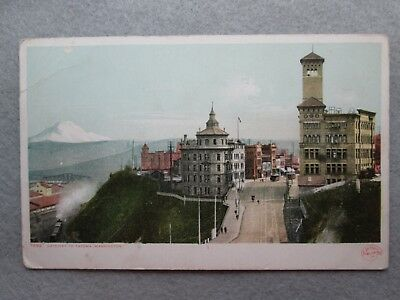 Antique Gateway To Tacoma, Washington Postcard