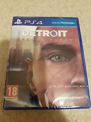 Detroit Become Human Brand New Sealed Ps4